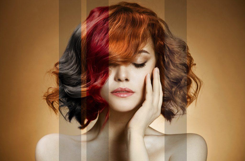 Как правилно да поддържате боядисаната коса?